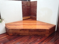 Decking Bench With Storage