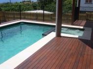 New Pool Deck Area