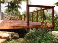 New Raised Deck Area