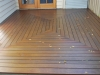 Patterned Wooden Deck