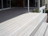 Stepped Timber Decking