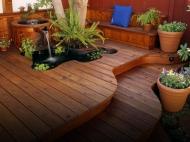 Feature Garden Decking