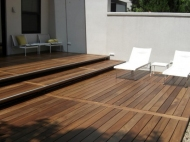 Hardwood Timber Deck