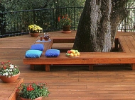 Bench Area Decking