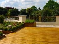 Beautiful Timber Garden Deck