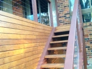 Decking with Stairs