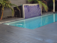Dark Deck with Pool