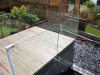 Deck With Frameless Glass Balustrade