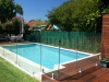 Pool Deck With Frameless Glass Balustrade
