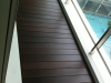 Dark Stained Wooden Decking