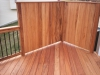 Light Wood Decking