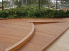 Curved Timber Decking