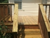 Backyard Wooden Decking