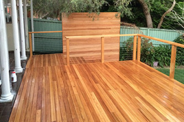Blackbutt Decking