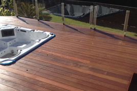 Pacific Red Ironbark Decking