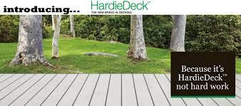 Hardie Deck