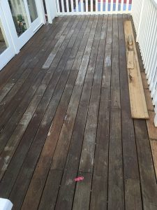 Deck Sand and Sealed Before