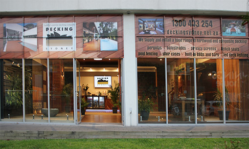 Decking Sydney Showroom-Front-Signature