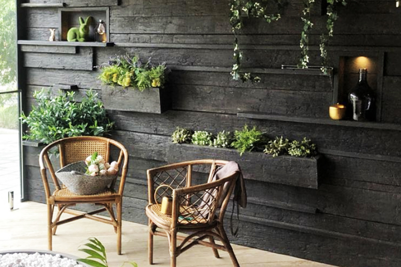 Decking Sydney Showroom Feature Wall 2