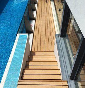 Decking Around Pool
